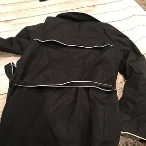 Style & Co Jackets & Coats - Style & Co. Black and White Trench Coat